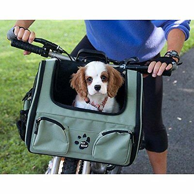Pet Bike Basket 3-in-1 Bike Basket/Car Seat/Carrier up to 12lb. ALL Colors!