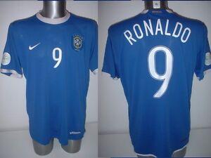 Brazil Brasil Adult L RONALDO Vintage Shirt Jersey Soccer 2006 NIKE ... 9d6016ec4