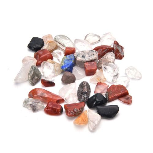 50G Natural Colorful Quartz Crystal Mini Stone Rock Chips Specimens Healing YJ