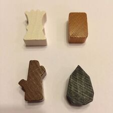 Agricola - Set of 93 Resource/Commodity Tokens/Meeple/Pieces - NEW Lookout Games