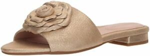 Taryn-Rose-Womens-Violet-Shimmer-Metallic-Slide-Sandal-Select-SZ-Color