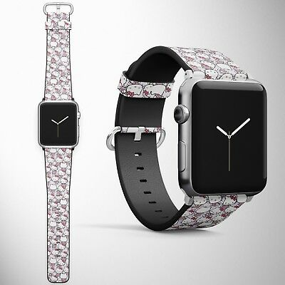 Hello Kitty Apple Watch Band 38 40 42 44 mm Series 5 1 2 3