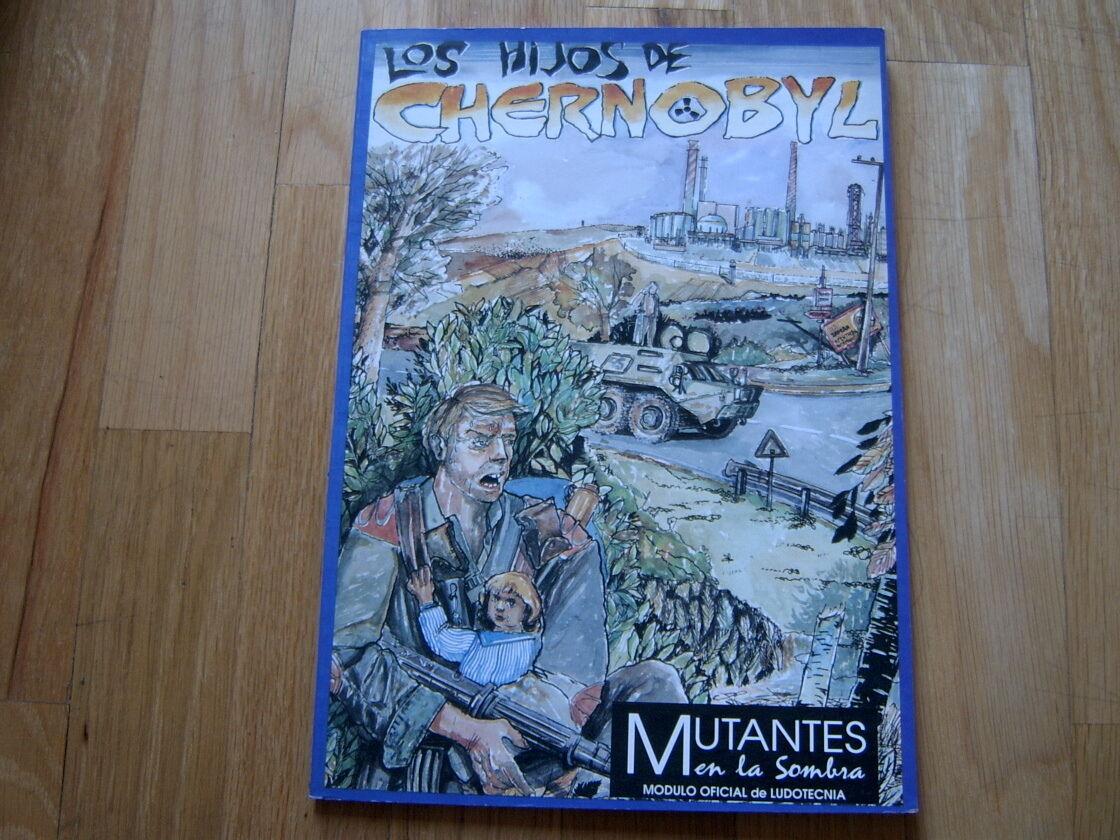 Mutants en la Sombra - The sons of Chernobyl - set rol - Ludotecnia