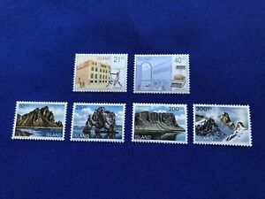 Iceland-Stamps-6-Scott-s-below-1990-91-MNH-Cat-Val-26US-Pr-7US-2159