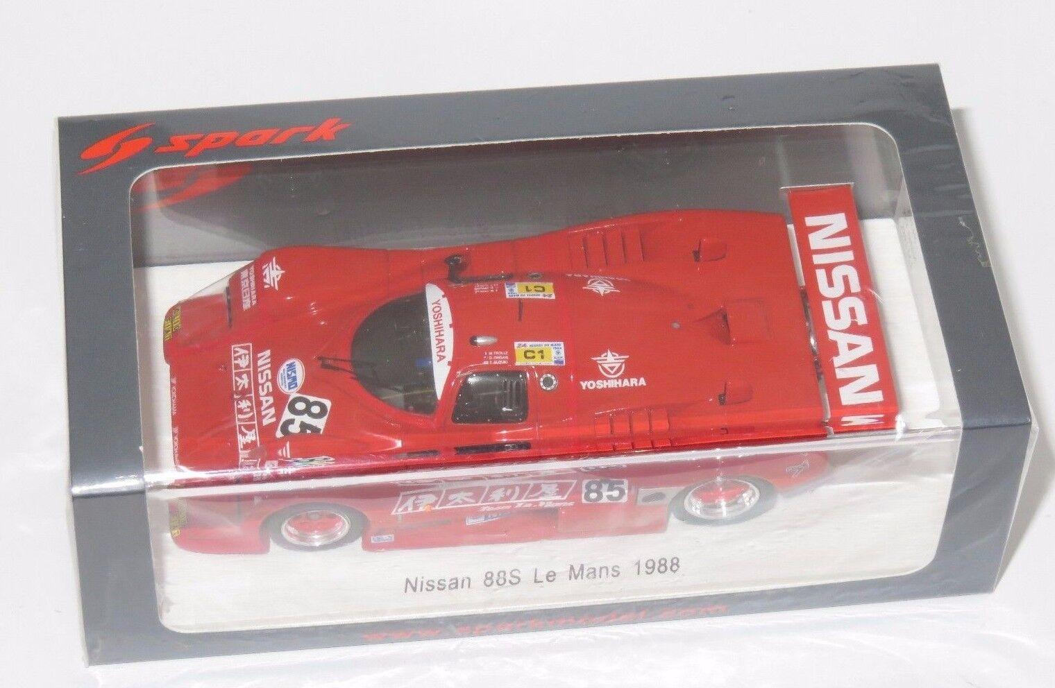 1 43 March Nissan 88S   a Cabin Team  Le Mans 24 Hrs 1988