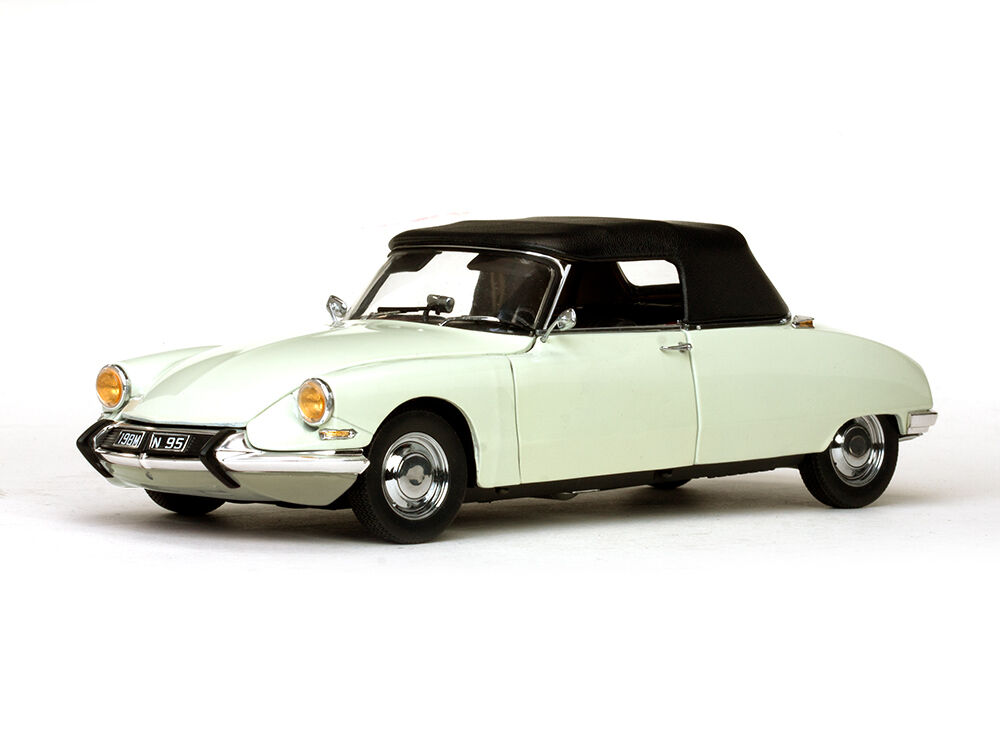 SUN STAR  1 18 SUN4745 CITROEN DS19 CABRIOLET BLANC 1961  direct usine