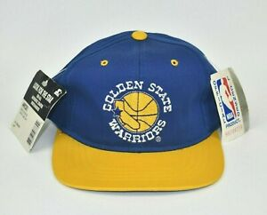 Golden-State-Warriors-Starter-NBA-Vintage-90-039-s-Youth-Adjustable-Snapback-Cap-Hat
