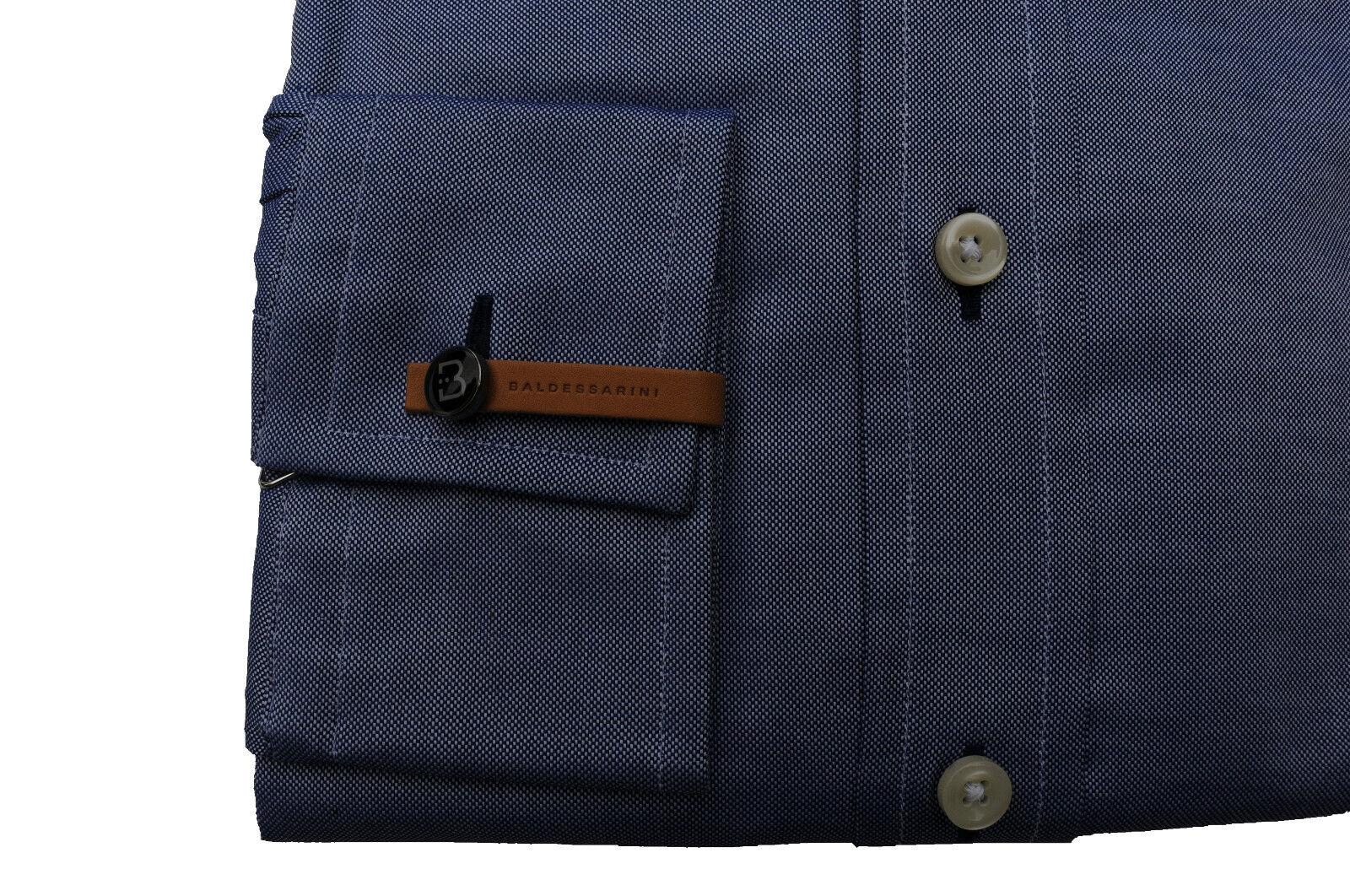 TG. 40 Baldessarini Camicia Manica Lunga Lunga Lunga Regular Fit Jeans a 4570 05842b