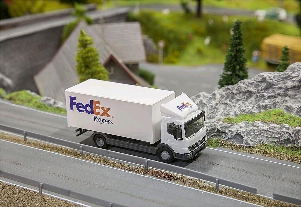 tienda en linea Faller 161592 161592 161592 camiones Mercedes Benz Atego 04 fedex (Herpa)  Entrega gratuita y rápida disponible.