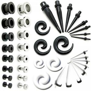 Set-tunnel-taper-set-dilatatore-spirale-2-3-4-5-6-8-10-mm-piercing