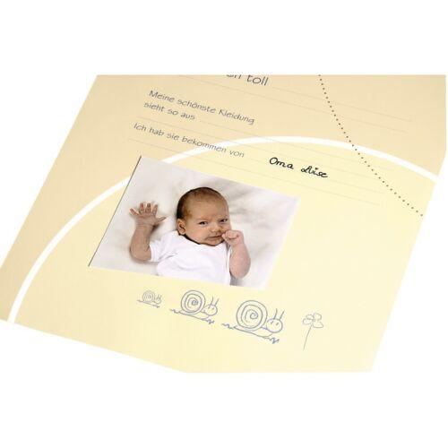 Babytagebuch zur Geburt Personalisiert mit Name Filz Taufgeschenk Babyalbum 3