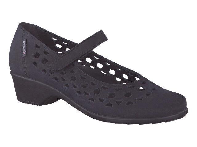 Damas Informal Zapato Mephisto Rodia Negro, gris Cálido UK 7, Talla 5, 7, UK 7.5 8eee19