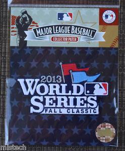 Image is loading MLB-Baseball-Patch-Fall-Classics-World-Series-2013- 11164780c64