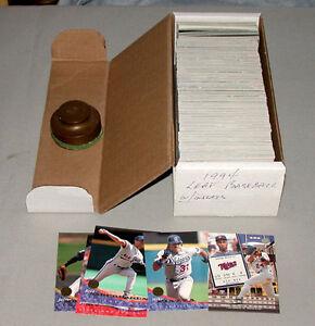 1994-Leaf-Full-Baseball-Card-Set-of-440-Cards-3-Subsets