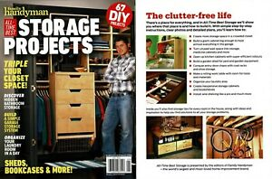 Details About New Family Handyman All Time Best Storage Projects 2019 67 Diy Sheds Bookcases