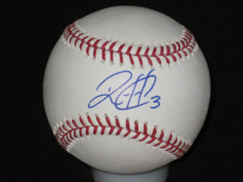 Wilson Ramos AUTOGRAPHED RookieBall Inscribed #3 Rawlings OML Baseball - MLB