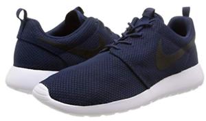 Details about Nike Men's Roshe Run Sneaker | Midnight NavyBlackWhite | 11.5 M US