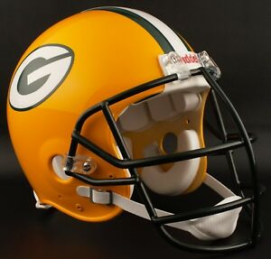 d368303ea8e GREEN BAY PACKERS 1980-1999 NFL Riddell AUTHENTIC Throwback Football ...