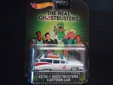 Hot Wheels ECTO 1 Ghostbusters Cartoon Car 1/64 ws2