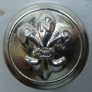 BOUTON ANCIEN GRAND BOUTON METAL ARGENTE DIAMETRE 30 MM A IDENTIFIER