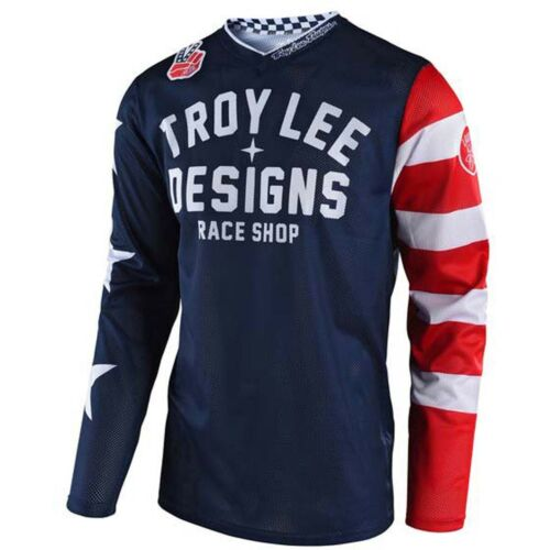 34 Troy Lee Designs TLD GP Air Americana Mono Navy Off Road MX Gear Set Large