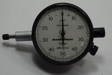 New Brown Amp Sharpe Usa 250 Range 599 8221 510 Dial Indicator 001 Grad