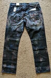 350-PRPS-Jeans-Barracuda-Japanese-Straight-Leg-W-Mud-Stains-Paint-Splatter-38