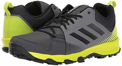 Adidas TERREX TRACEROCKER Men's Trail Running shoes Sz 8 8.5 Grey Yellow S80899