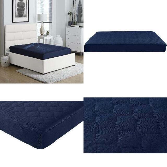 """Full Size Quilted Mattress Foam 6/"""" Bedroom Bed Sleeping Comfort Home New"""