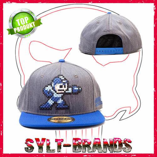 Mega Man Cap Megaman Kappen MegaMan Snapback Hats Capcom Baseballcaps Gorras