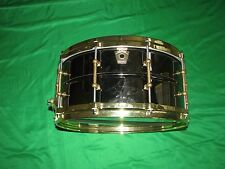Ludwig 6.5 x 14 Black Beauty Snare Drum with Brass Hardware