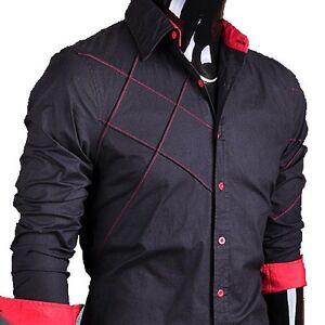 Jeansian-Mens-Cross-Line-Slim-Dress-Shirts-Tops-Fashion-6-Colors-5-Sizes-2028