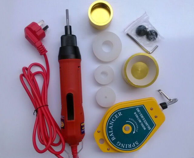 Portable Electric Screw Capping Machine Handheld Table-water Bottle Capper 110V