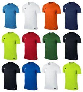 Détails sur Nike Park VI Hommes T Shirt Football tee shirts Gym Course Tops T Shirt afficher le titre d'origine