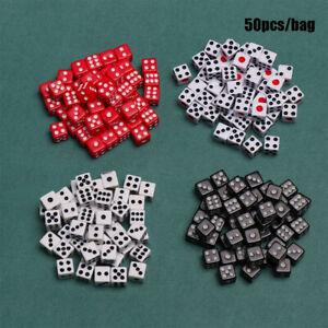 Rot-Tool-fuer-Unterhaltung-Spiel-mit-Brettspielen-Gaming-Trinkdice-Wuerfel