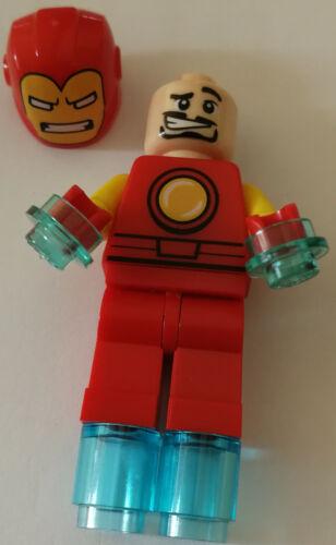 Funny Style LEGO® Marvel Super Heroes Figur Iron Man Neu mit Zubehör Avengers