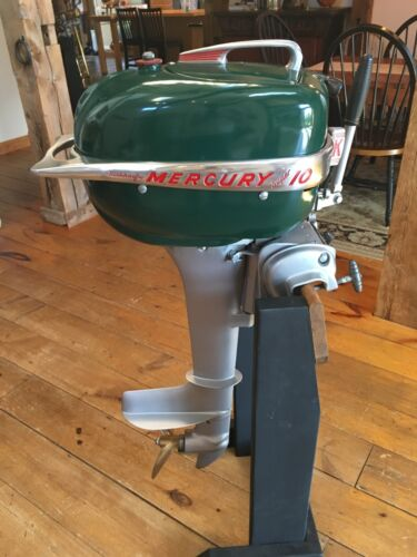 Outboard motors collection on ebay for Vintage mercury outboard motors