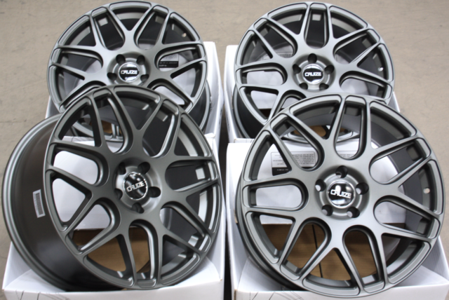 """18"""" ALLOY WHEELS CRUIZE CR1 GM FIT FOR OPEL ADAM S CORSA D ASTRA H & OPC"""