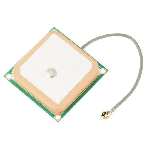 28dB High Gain GPS Active Antenna Ceramic Patch Internal IPEX Connector 1575MHZ