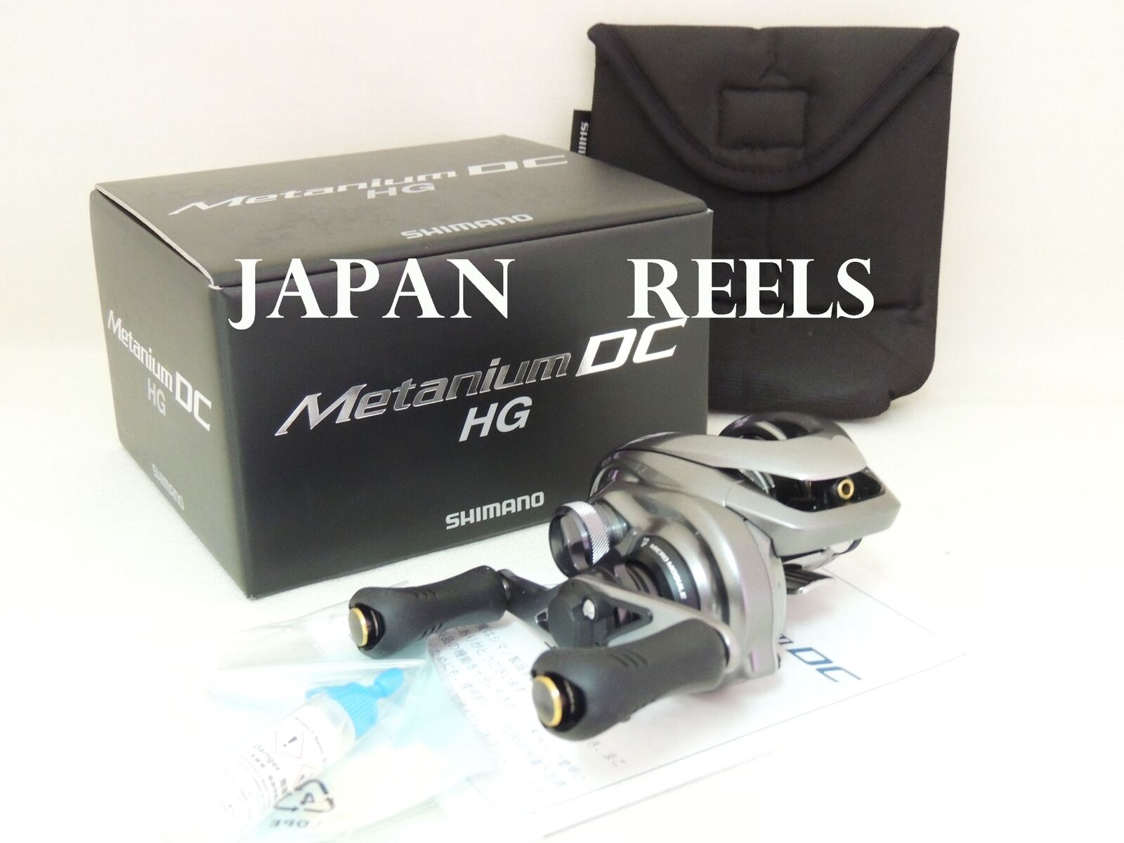 NEW SHIMANO 15 METANIUM DC HG RIGHT HAND (7.4 1) JAPAN 1-3 DAYS FAST DELIVERY