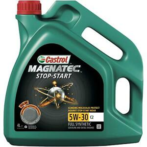 Castrol-Magnatec-Stop-Start-5W-30-C2-4L-Fully-Synthetic-Car-Engine-Oil