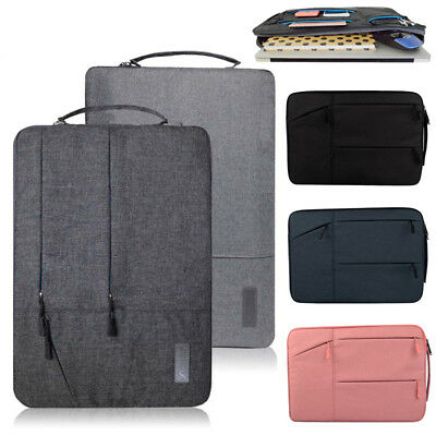 with Card Slots /& Document Pockets Carry-All 13-14 Inch Laptop Sleeve Case Bag