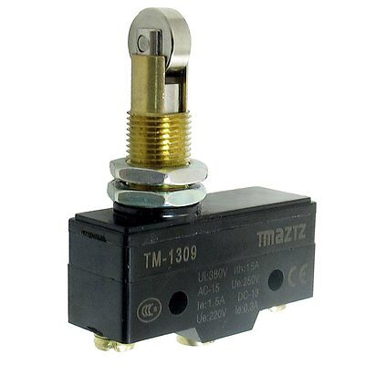 TM-1309 Cross Roller Plunger Actuator Momentary Micro Limit Switch