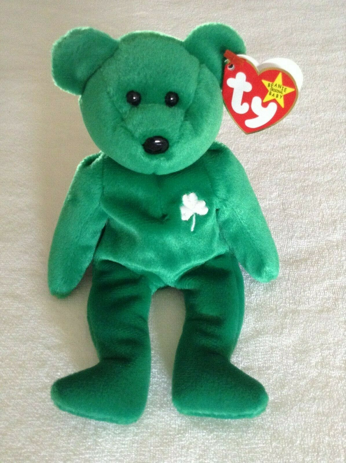 TY Beanie Baby ERIN the Bear 1997 Retired Errors MINT with MINT TAG