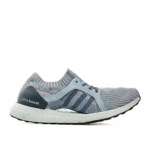 00290621fc7bf NEW Adidas Womens UltraBoost X Tactile Blue BB1693 running shoes ...