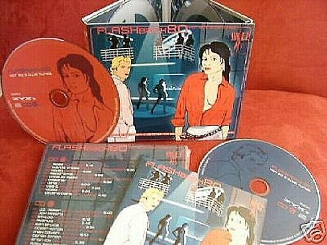 "2 CD Flashback 80s Rare Italo Disco Original 12"" Versions Michael Cretu 80er NEU"
