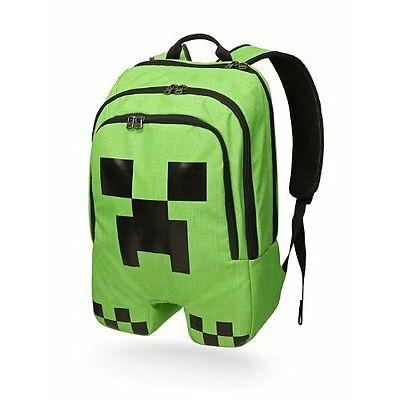 Minecraft Schoolbag Creeper Design Backpack Rucksack Boy Sports Mine Craft Bag