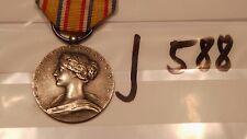 Orden Frankreich Feuerwehr Verdienstmedaille silbern ohne Helm (j588-)