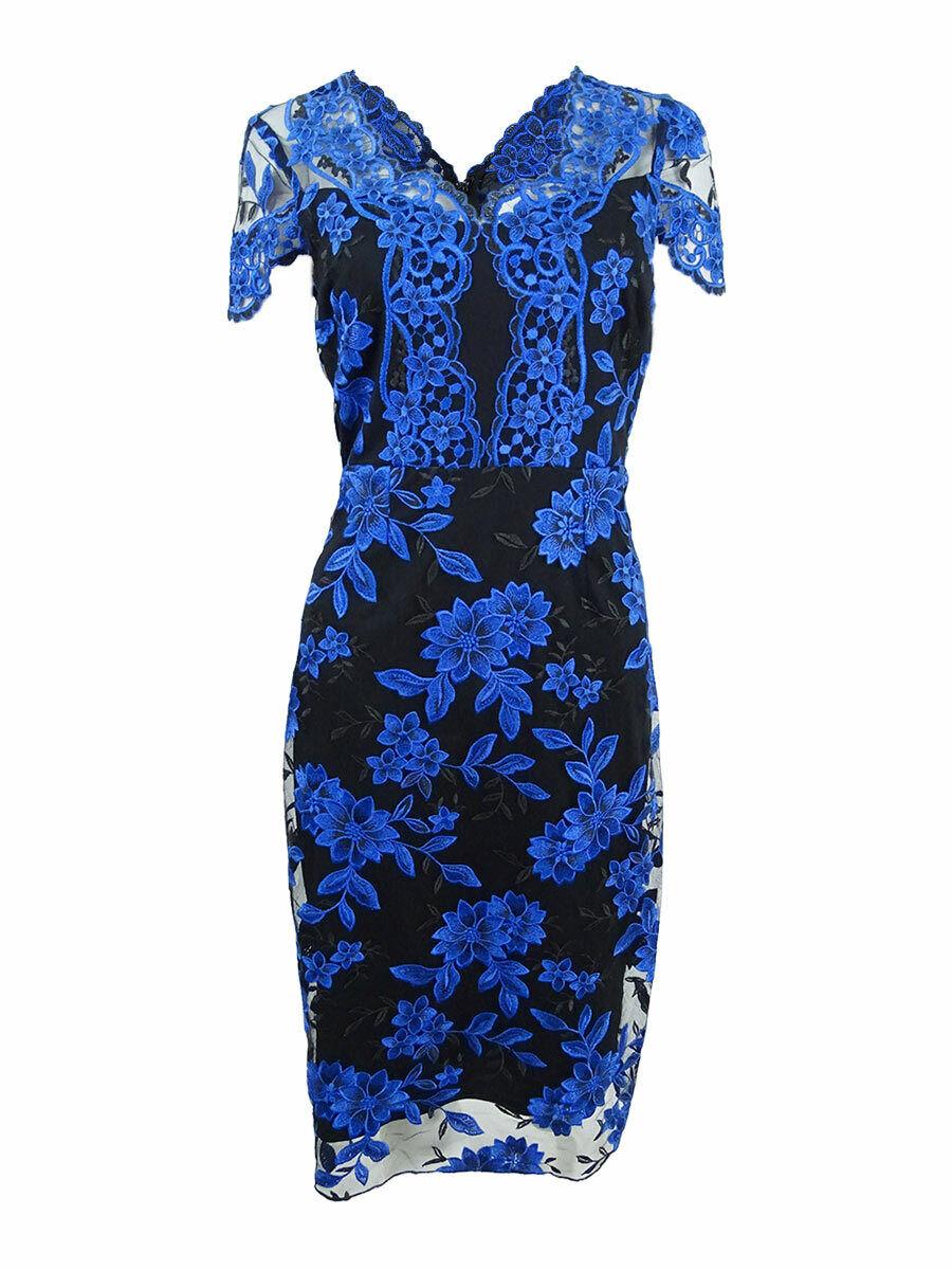 JAX Woherren Embroiderot Sheath Dress