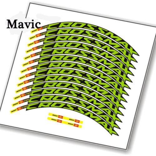 Mavic CROSSMAX SL PRO Mountain bike bicycle Wheel rim Sticker MTB DH race decals